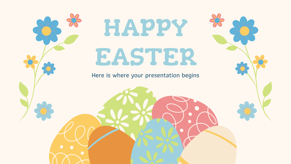 Happy Easter presentation template