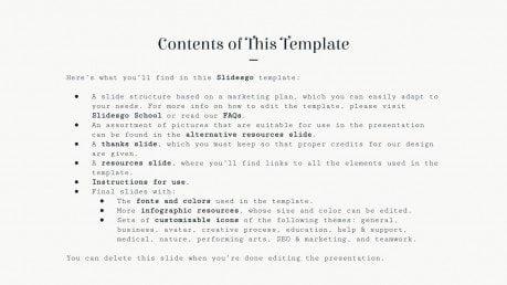 Wedding Planner Marketing Plan presentation template