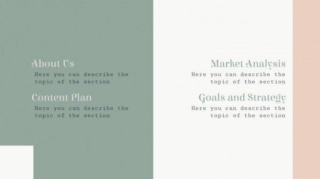 Plan marketing pour wedding planner : Modèles de présentation
