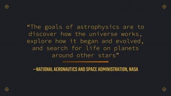 Astrophysics Lesson for College presentation template