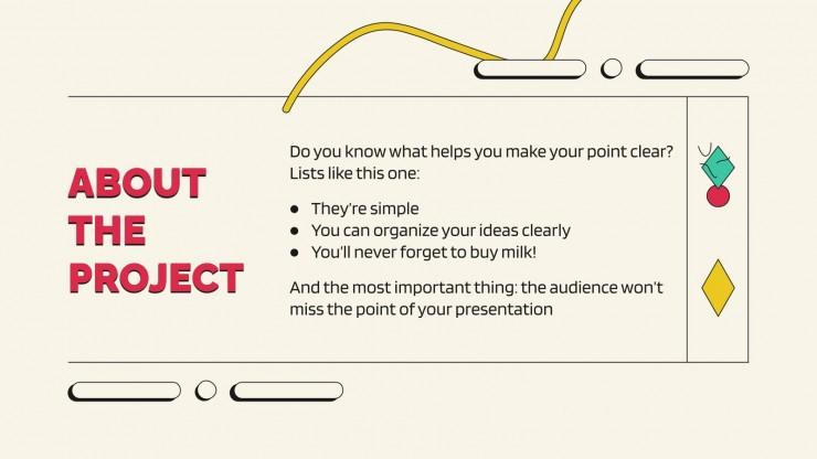 Splendens Projektvorschlag Präsentationsvorlage
