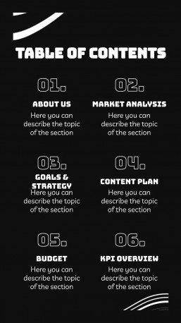 Keeneseek IG Slides for Social Media presentation template