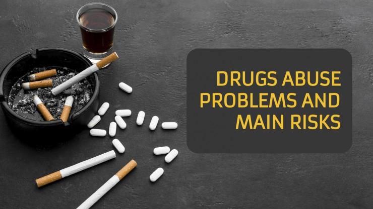 Modelo de apresentação Problemas de abuso de substâncias