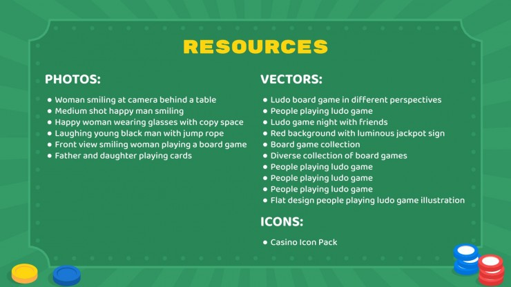 TableTop Day presentation template