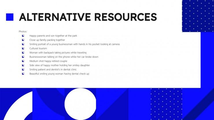 Profil d'une compagnie d'assurance : Modèles de présentation