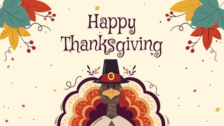 Happy Thanksgiving presentation template