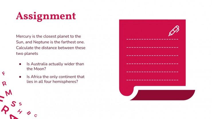 Plantilla de presentación Clase de literatura