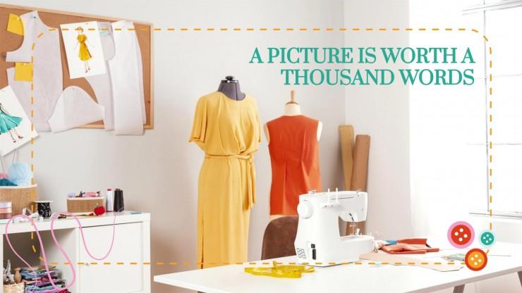 Sewing Machine Workshop presentation template