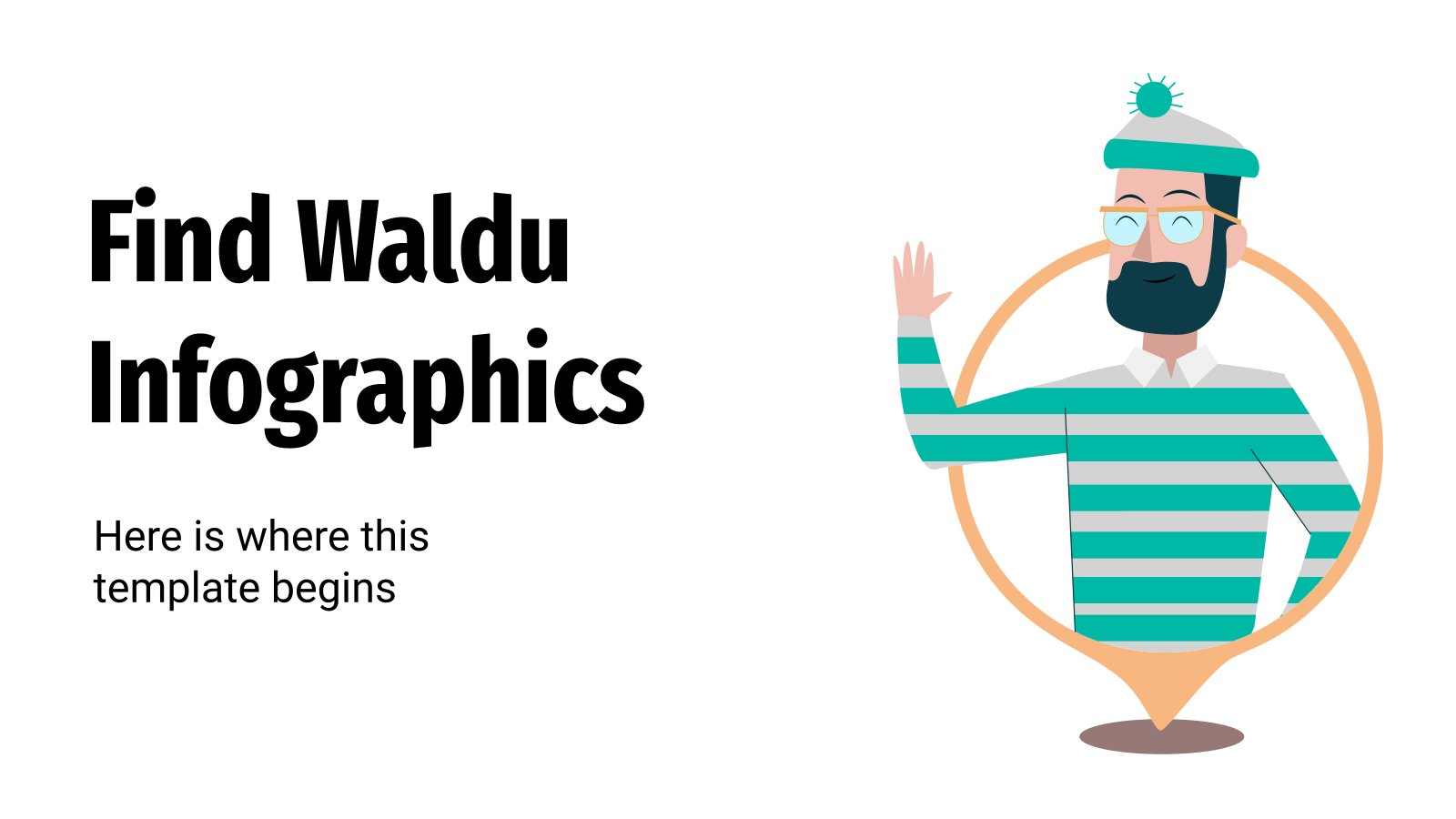 Find Waldu Infographics presentation template