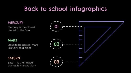 Back to School: Info for Parents & Students Infographics presentation template