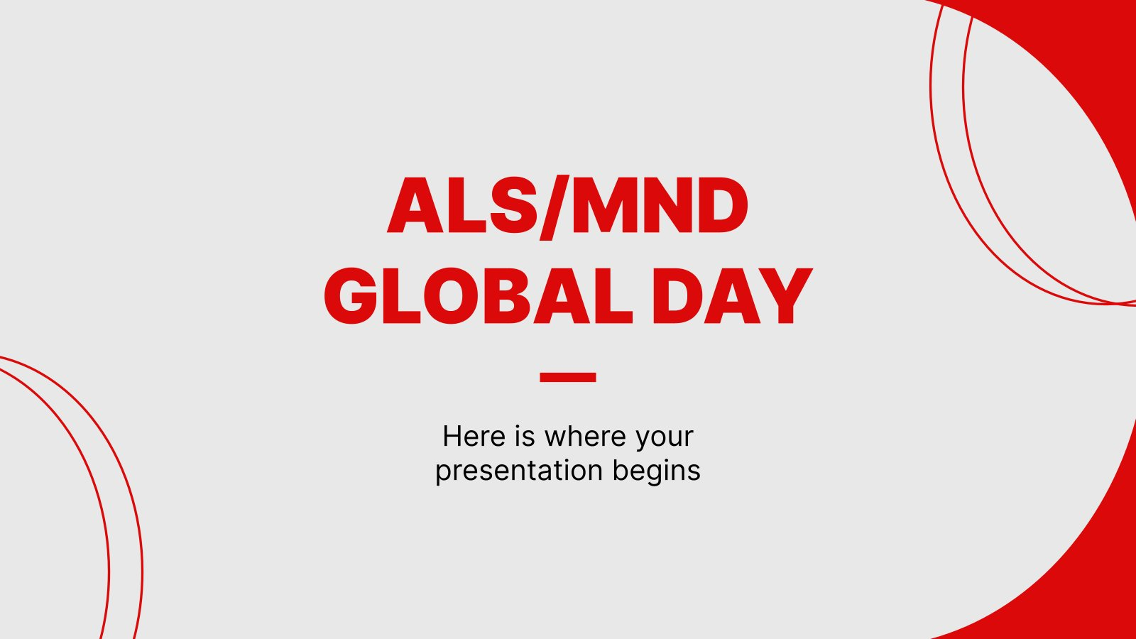 ALS/MND Global Day presentation template