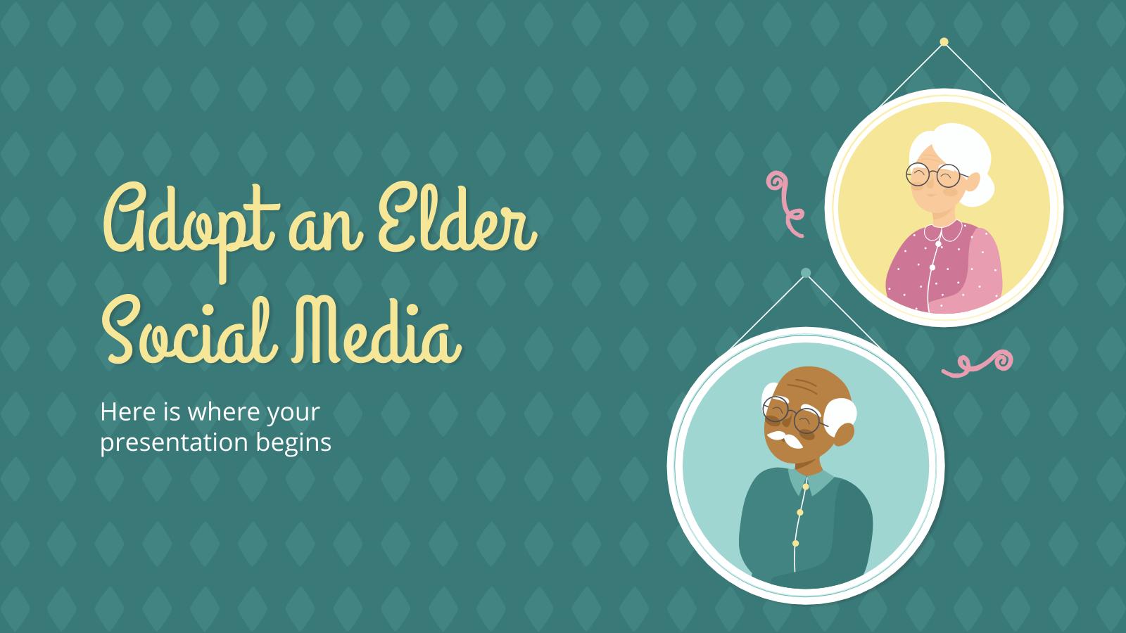 Réseaux sociaux : Adopter un ancien : Modèles de présentation