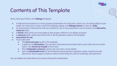 Mamoo Challenge Board for Teachers presentation template