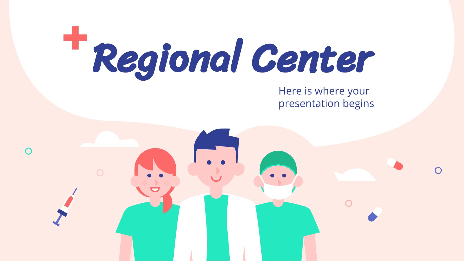 Centre régional : Modèles de présentation