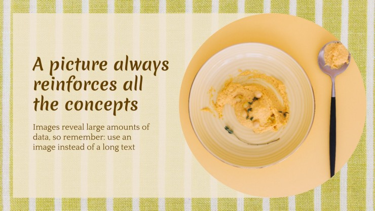 Internationaler Hummus-Tag Präsentationsvorlage