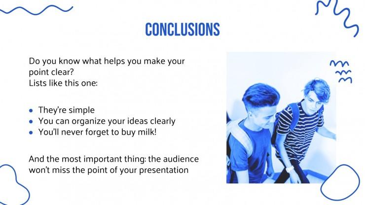 Gesundheit für die Mittelstufe Präsentationsvorlage
