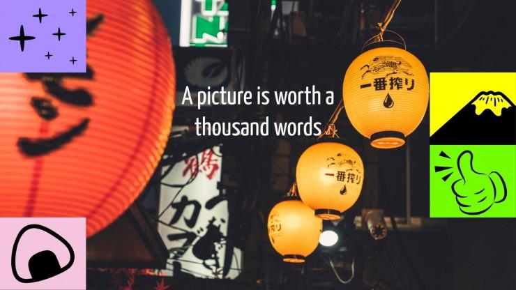 Plantilla de presentación Lección sobre la cultura popular japonesa
