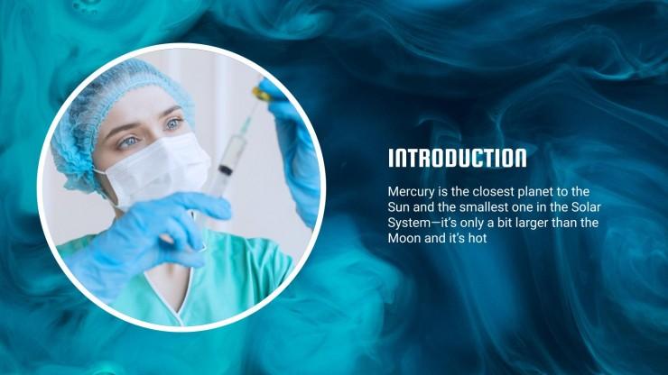 Modelo de apresentação Caso clínico com gradiente de fundo líquido