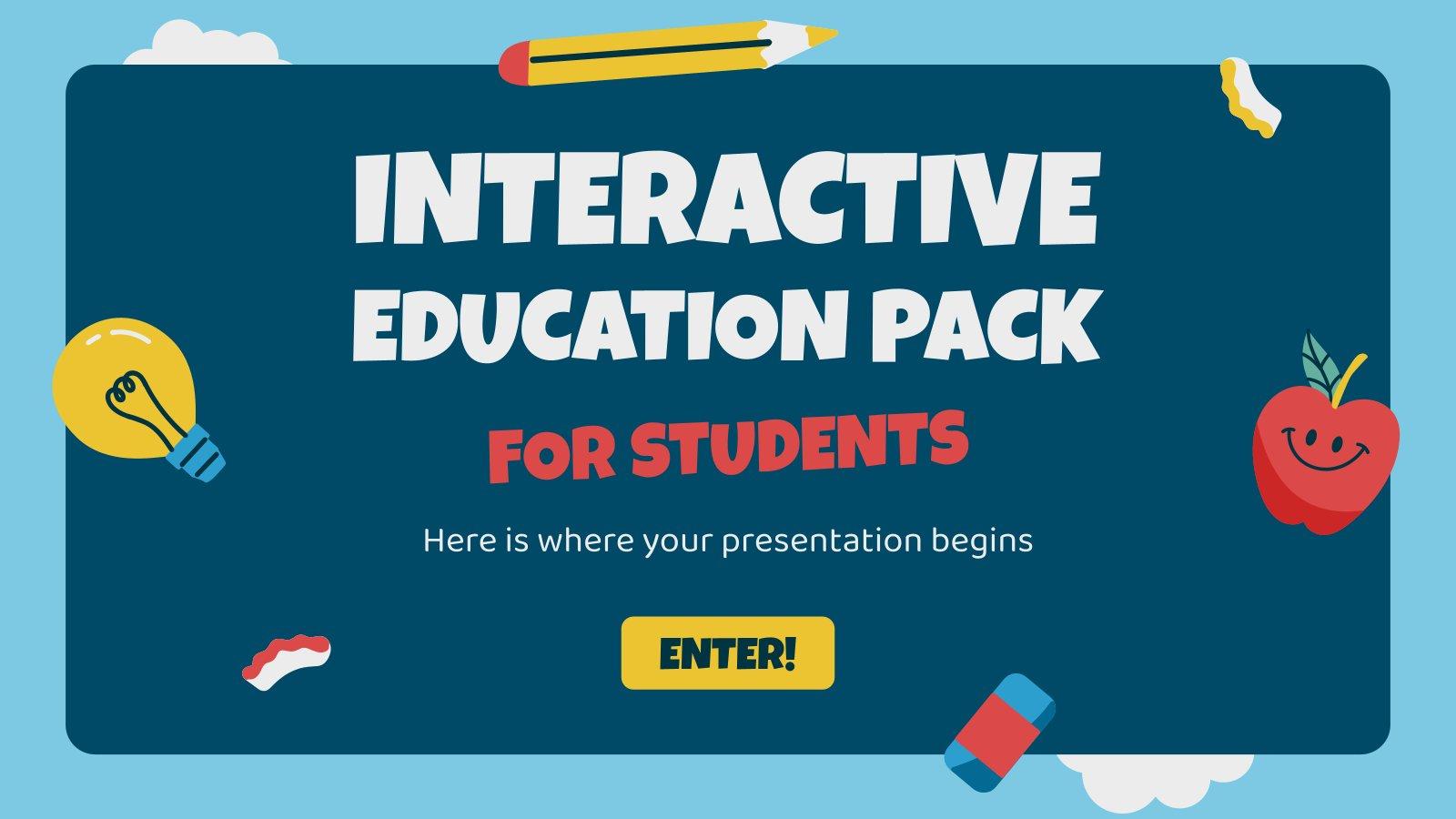 Kit pédagogique interactif pour les élèves : Modèles de présentation