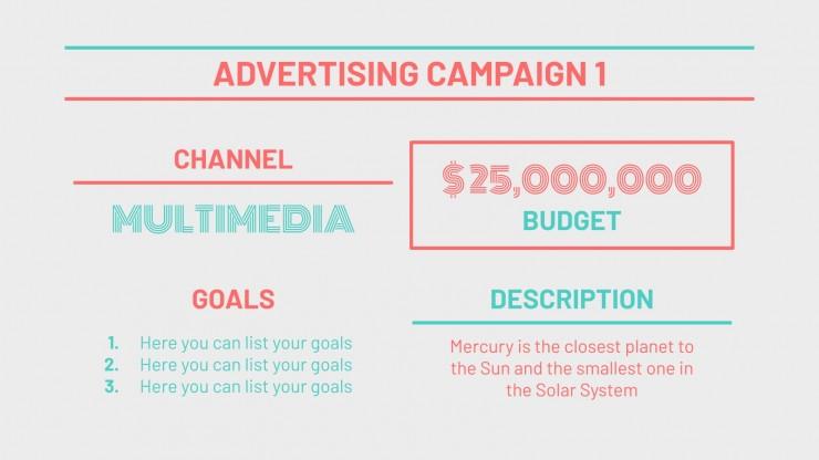 Celebrate Mornings Campaign presentation template