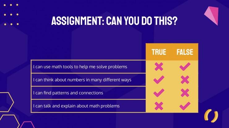 Mathe üben für die 2. Klasse Präsentationsvorlage