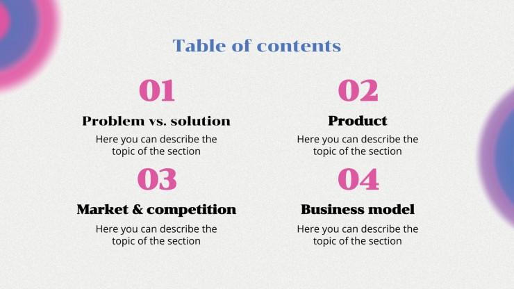 Iber Energie Vibes Pitch Deck Präsentationsvorlage