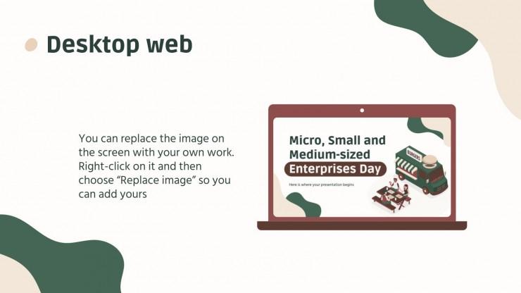 Micro, Small and Medium-sized Enterprises Day presentation template