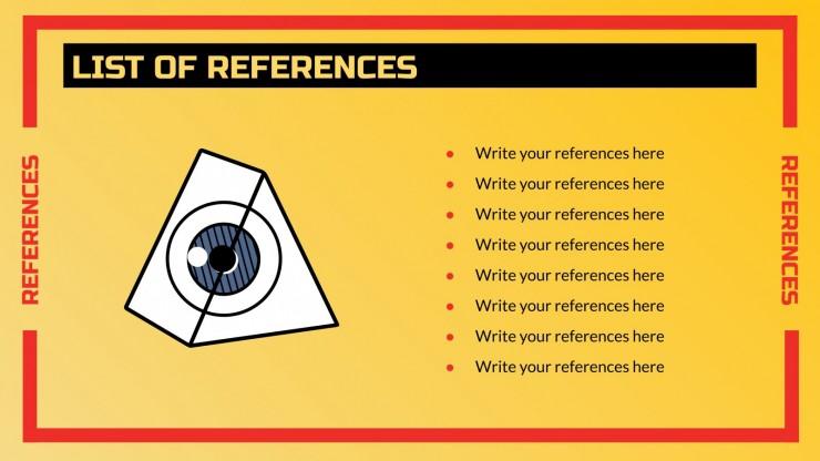 Tests d'acuité visuelle insuffisants : Modèles de présentation