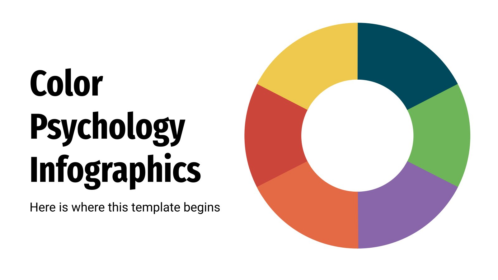 Color Psychology Infographics presentation template