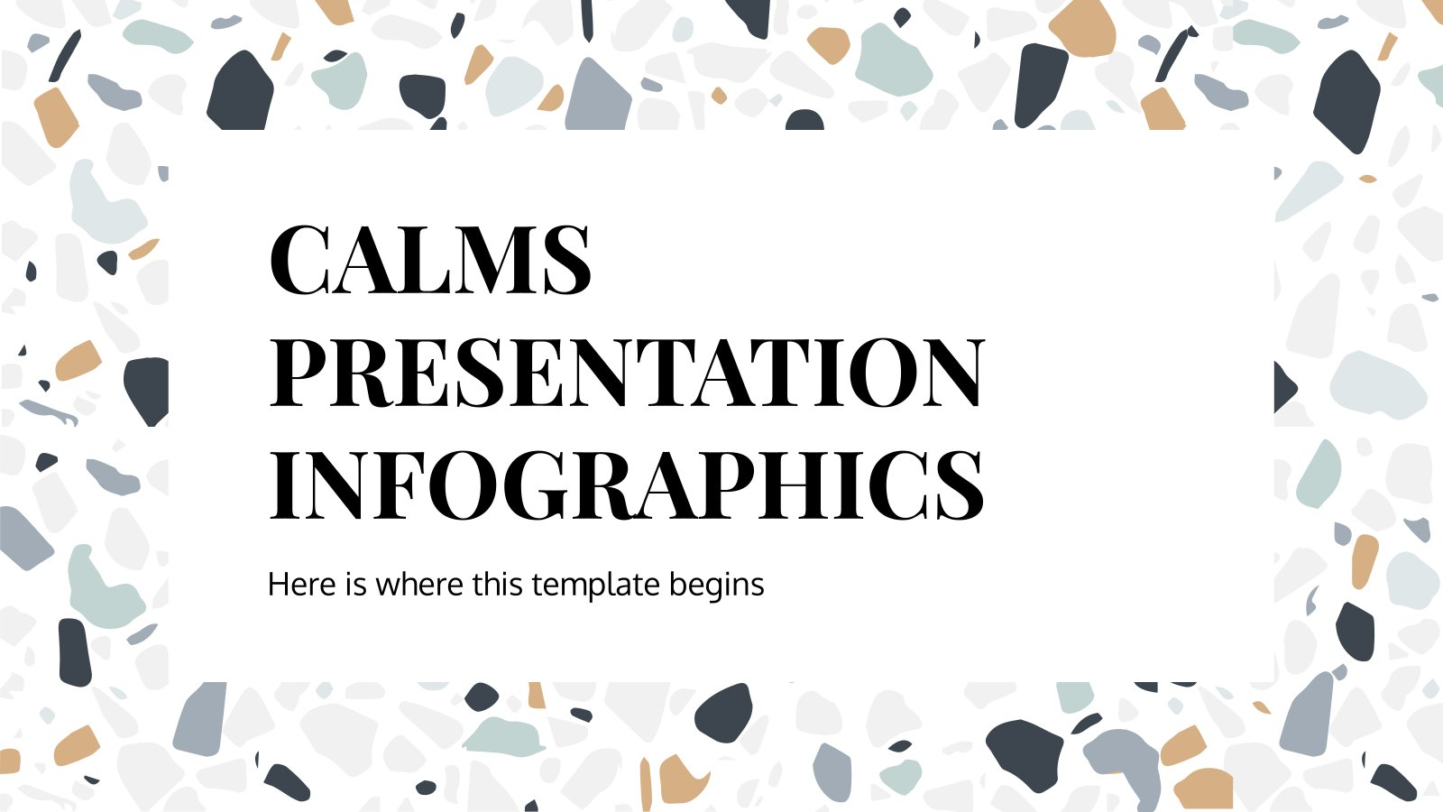 Calms Infographics presentation template
