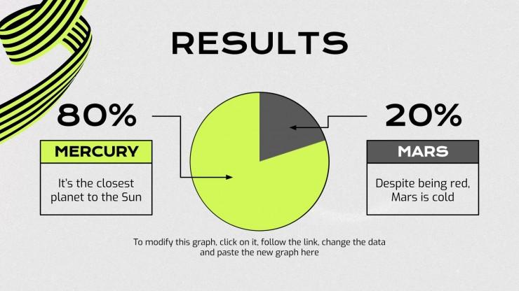 Plantilla de presentación Portafolio para diseñadores gráficos