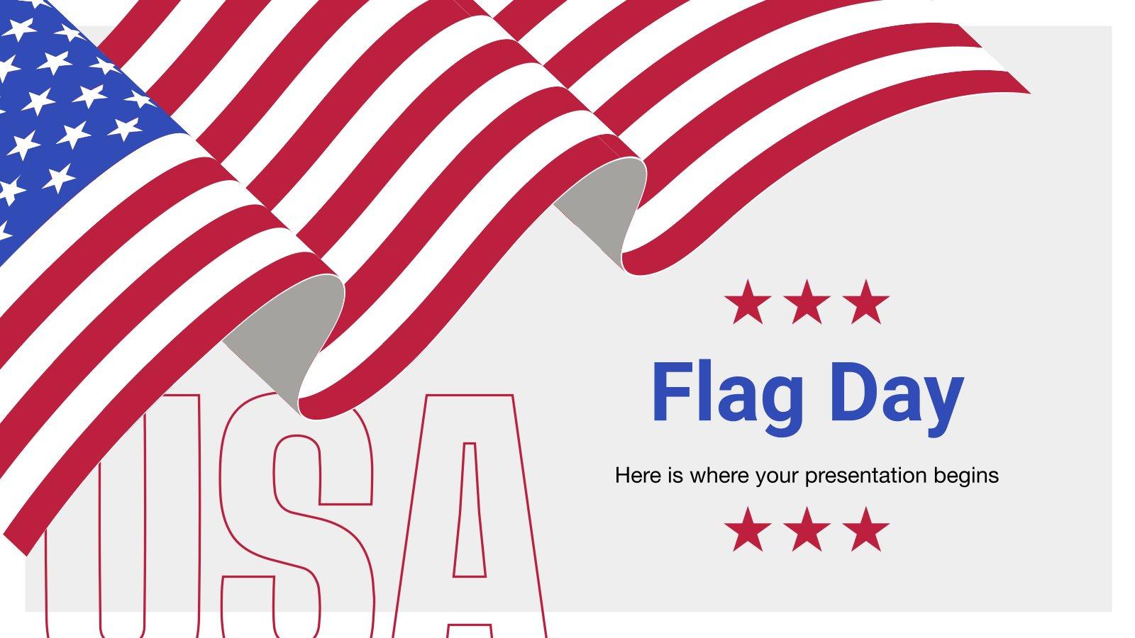 Modelo de apresentação Dia da Bandeira