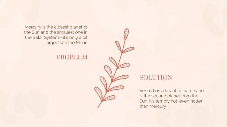Cours de botanique : Modèles de présentation
