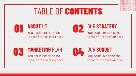 B2B-Marketing Folien Präsentationsvorlage