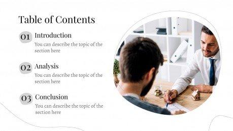 Pure Natic presentation template