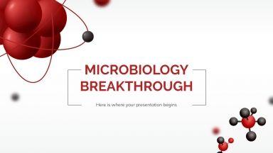 Mikrobiologie Durchbruch Präsentationsvorlage