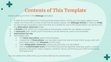 There Is No Planet B presentation template