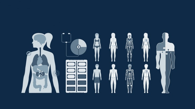 Modelo de apresentação Doença do estilo raio X