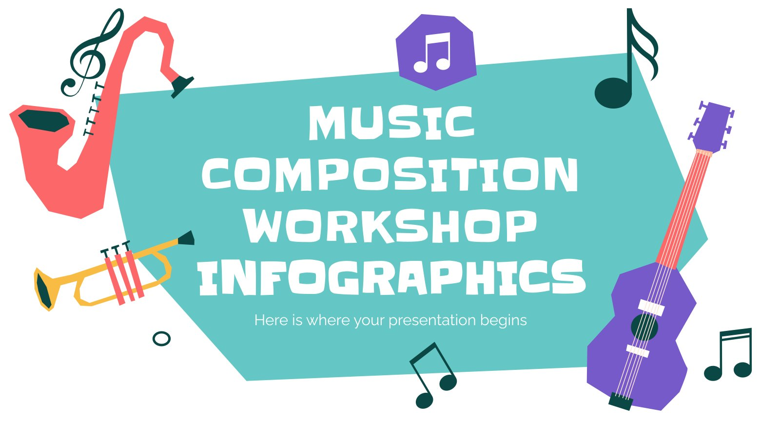 Music Composition Workshop Infographics presentation template