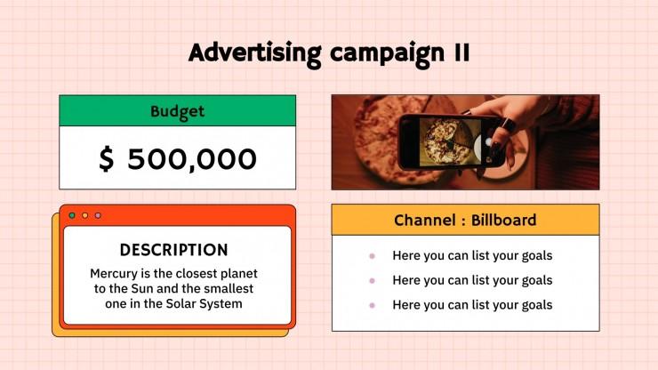 Soirée pizza ! : Modèles de présentation