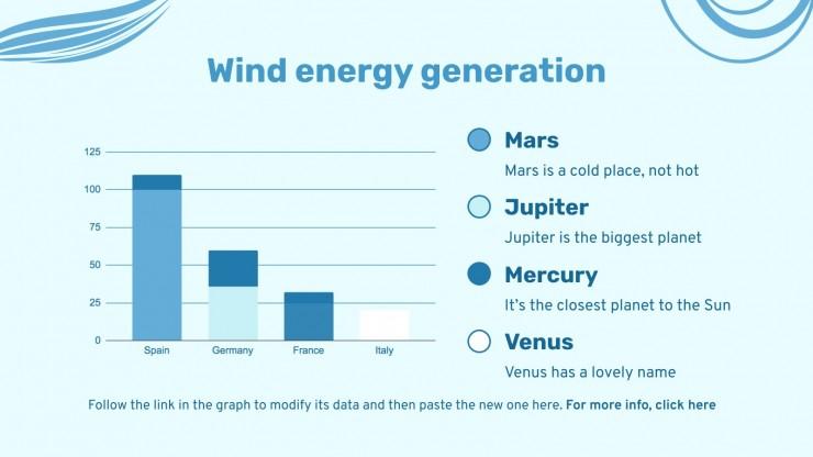 Journée mondiale du vent : Modèles de présentation