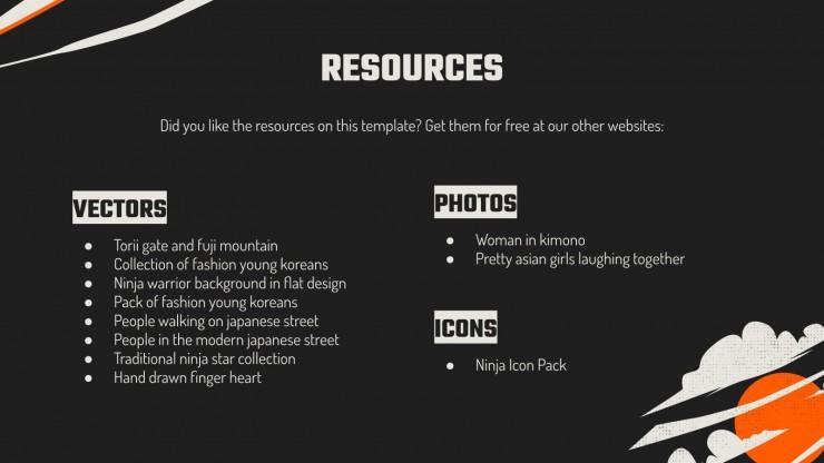 Plantilla de presentación Propuesta de proyecto con estilo japonés