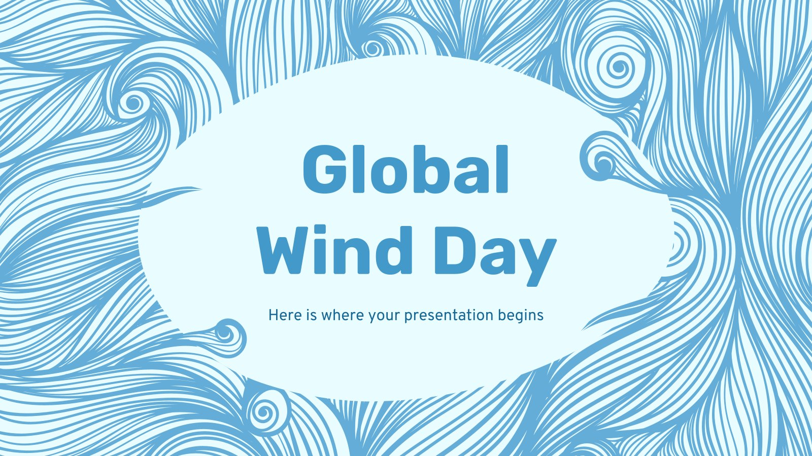 Global Wind Day presentation template
