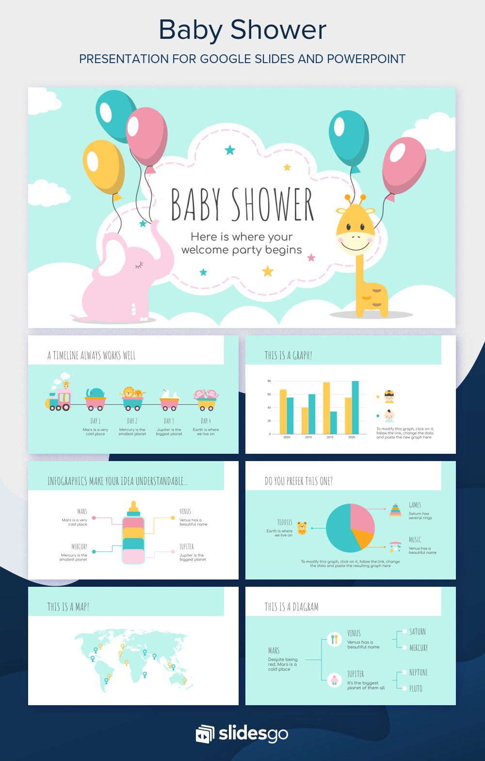 Baby Shower Google Slides Theme And Powerpoint Template