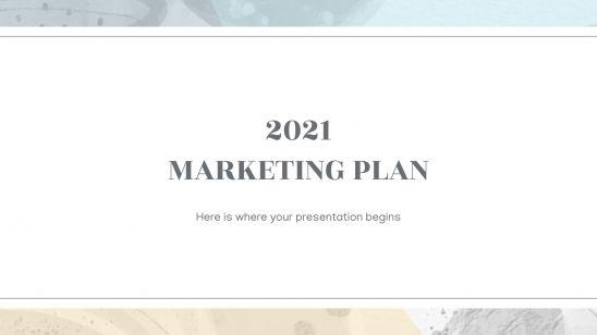 Plan marketing 2021 : Modèles de présentation