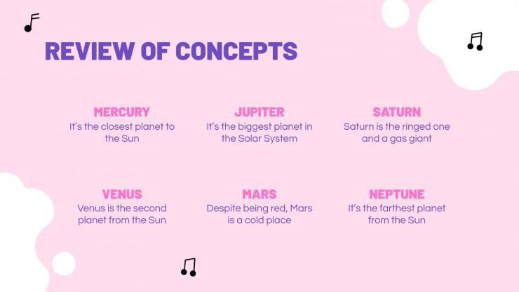 K-pop Slideshow presentation template