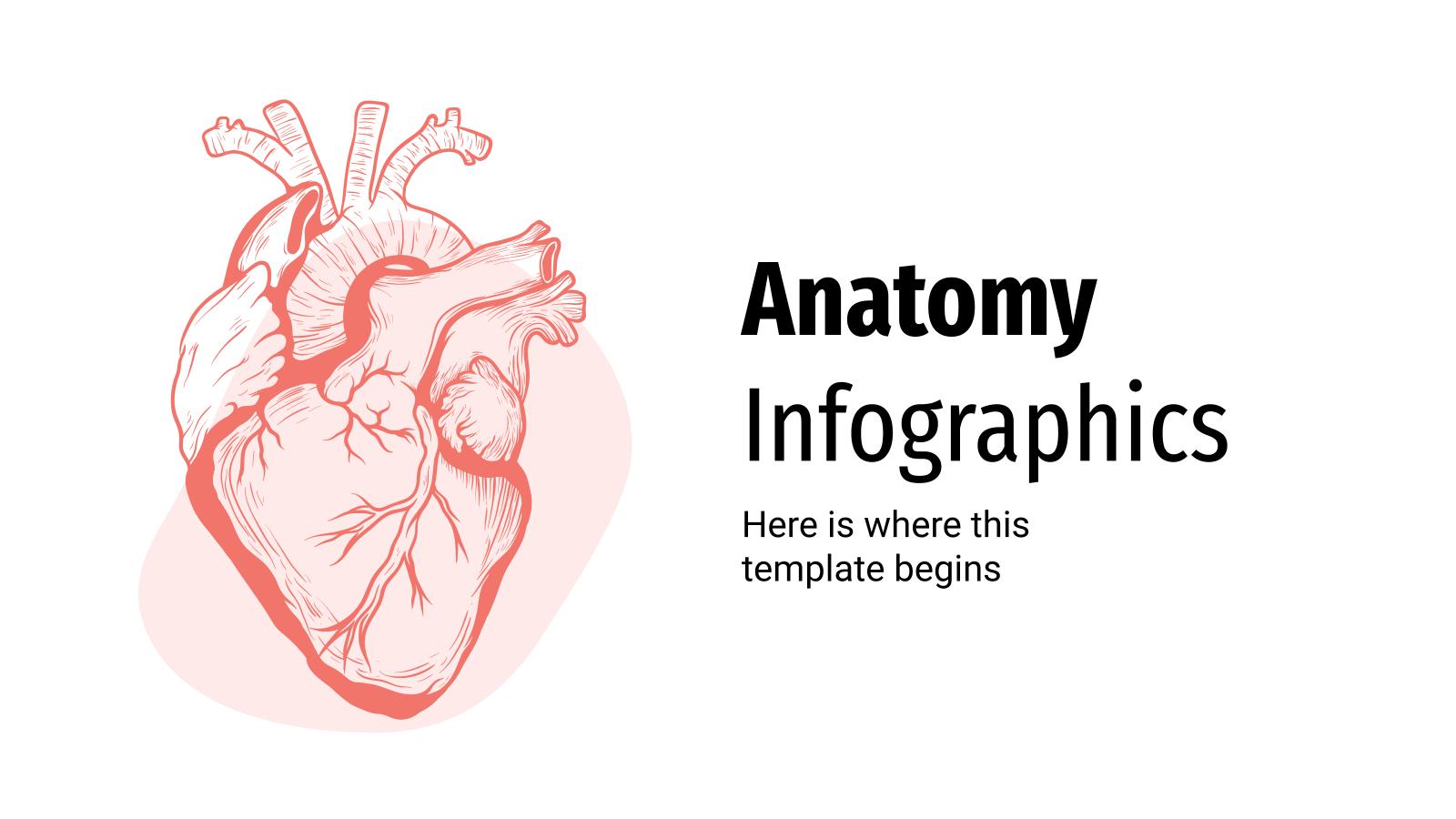 Anatomy Infographics presentation template