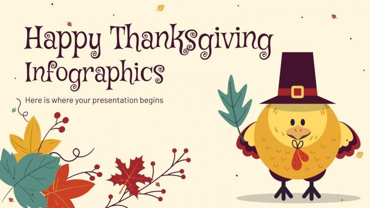 Happy Thanksgiving Infographics