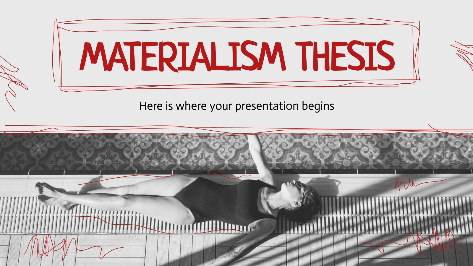 Materialism Thesis presentation template