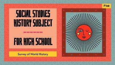 Sozialkunde für die 9. Klasse: Weltgeschichte Präsentationsvorlage